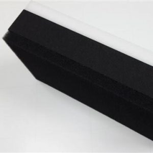 Blackboard eraser with special cleaning material