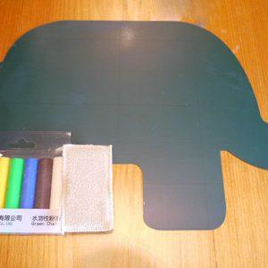 Elephant blackboard set