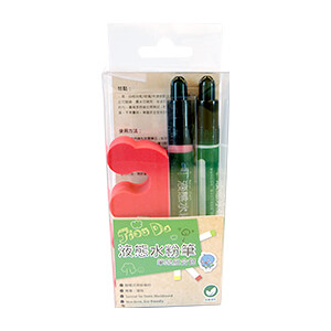 Liquid chalk pen stand set